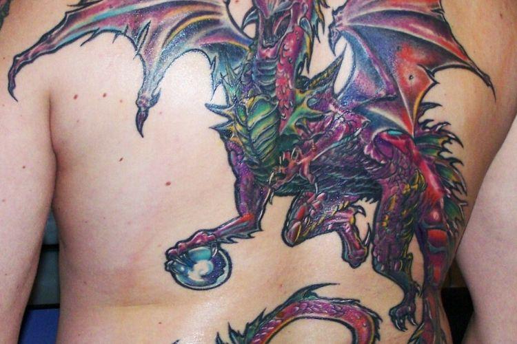 Les Tatouages De Dragon Et Leurs Significations Fascinantes